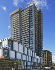 Paintbox Condominiums from Dundas Street East